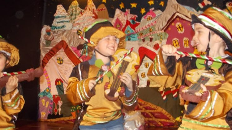 Χριστούγεννα στο Ζαχαροχωριό